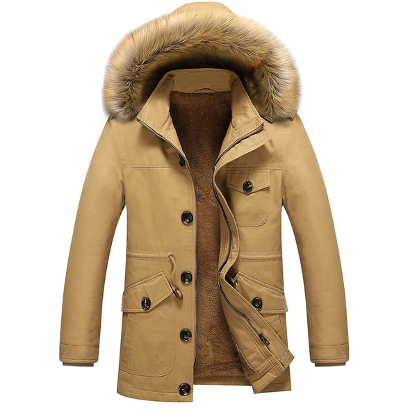 เสื้อโค๊ทกันหนาวผู้ชาย เสื้อกันหนาวใส่ติดลบได้ เสื้อแจ็คเก็ตผู้ชาย