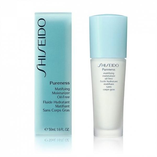 Shiseido Pureness Matifying Moisturizer Oil Free 150 ml มอยส์เจอไรเซอร์ สูตร Oil Free สำหรับผิวมัน และผิวเป็นสิว ด้วยเนื้อสัมผัสที่บางเบา ไม่เหนียวเหนอะหนะ ซึมซาบไว้ มอบความชุ่มชื่นให้ผิวอย่างสมดุล ผิวสะอาด สดชื่น