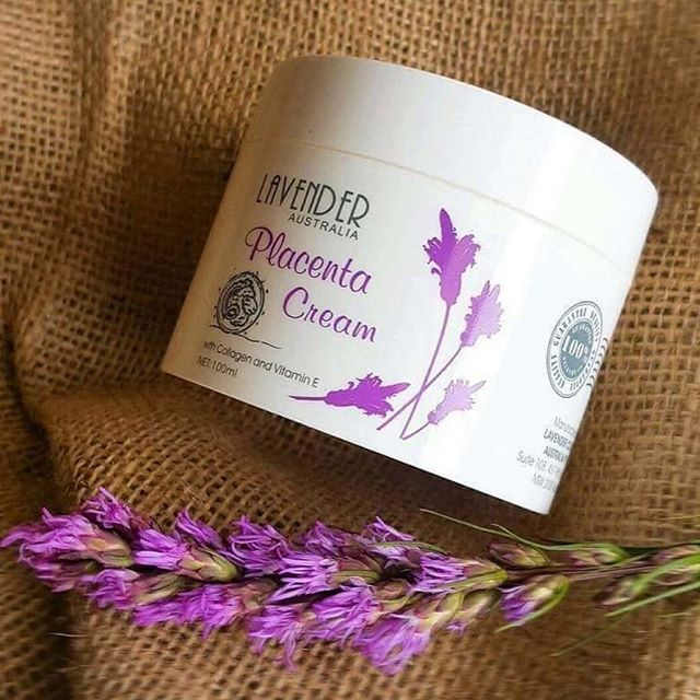 Lavender Placenta Cream ครีมรกแกะลาเวนเดอร์ พลาเซนต้า จากออสเตรเลีย