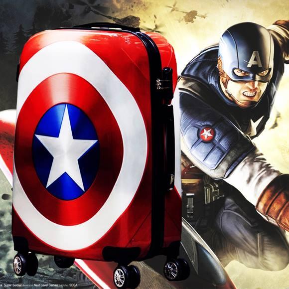 กระเป๋าเดินทางกัปตันอเมริกา Sz 24 Captain America  Luggages สุดเท่