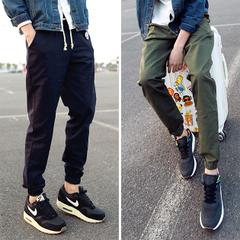 กางเกงผู้ชาย ราคาถูก กางเกงลำลอง กางเกงฮาเร็ม มี สีดำ สีน้ำเงิน สีเขียว มี ไซร์ M L XL 2XL 3XL