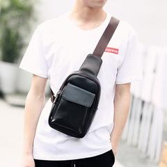 กระเป๋าผู้ชาย ราคาถูก กระเป๋าสะพายอก เอว ถือ มี สีดำ สีน้ำเงิน