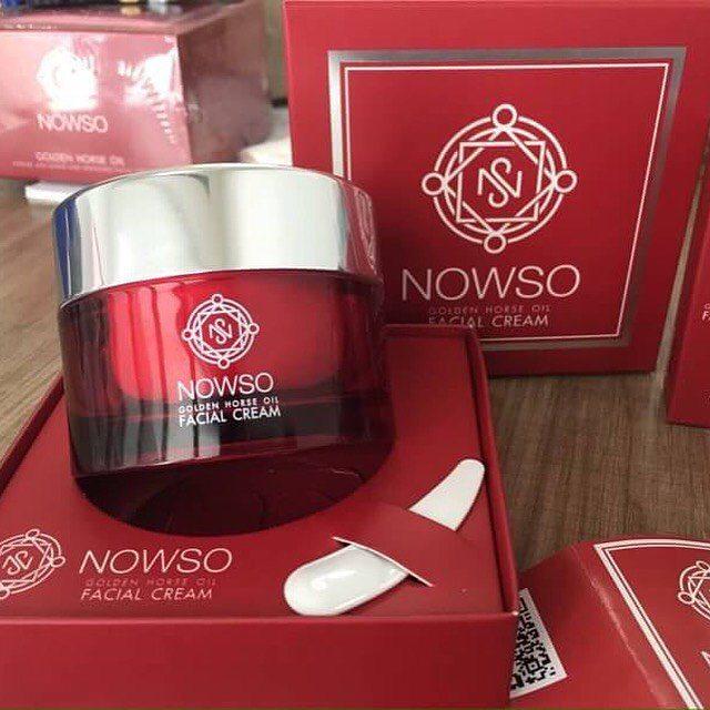 NowSo Facial Cream นาวโซ เฟเชี่ยล ครีม