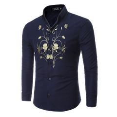 เสื้อผ้าผู้ชาย ผู้หญิง ราคาถูก เสื้อเชิ๊ต เท่ๆ มี สีดำ สีน้ำเงิน มี ไซร์ M L XL XXL XXXL