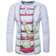 เสื้อผ้าผู้ชาย ราคาถูก เสื้อยืด แขนยาว มี สีตามรูป มี ไซร์ M L XL XXL