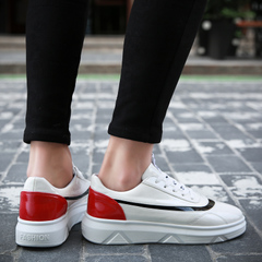รองเท้าผู้ชาย ราคาถูก รองเท้าแฟชั่น รองเท้าผ้าใบ  มี สีดำ สีขาว สีดำแดง มี ไซร์ 36-44