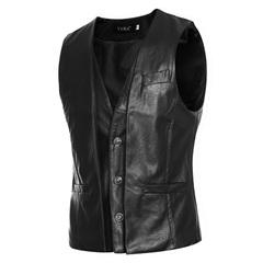 เสื้อผ้าผู้ชาย ผู้หญิง ราคาถูก เสื้อกั๊ก มี สีดำ สีน้ำตาลอ่อน สีน้ำตาลเข้ม มี ไซร์ M L XL 2XL