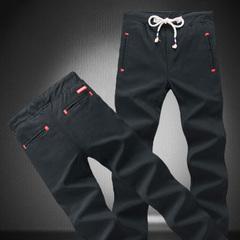กางเกงผู้ชาย ราคาถูก กางเกงลำลอง กางเกงฮาเร็ม มี สีดำ สีน้ำเงิน มี ไซร์ 28-34