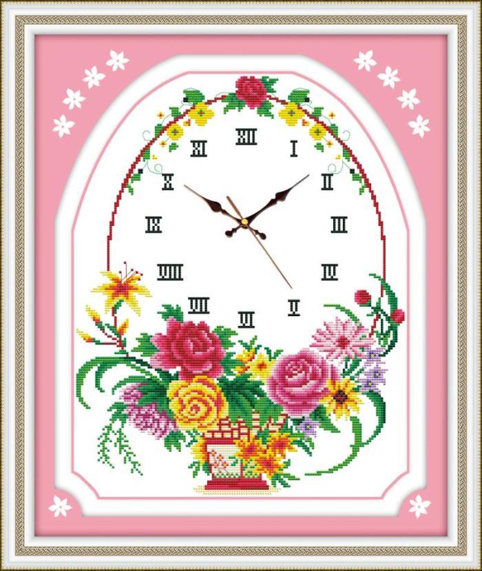 Floral (+นาฬิกา)(พิมพ์ลาย)