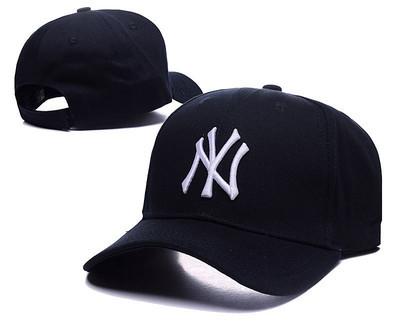 หมวกผู้ชาย ผู้หญิง ราคาถูก หมวกเบสบอล NY (ปรับได้) มี สีตามรูป