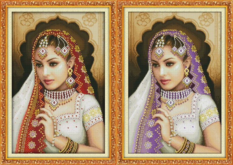 Oriental beauty (ไม่พิมพ์/พิมพ์ลาย)(เดี่ยว/คู่)