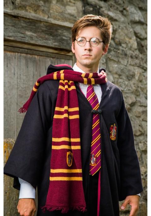 ++พร้อมส่ง++ชุดแฮรี่พอตเตอร์+แว่นตา+เนคไท+ไม้กายสิทธิ์+ผ้าพันคอ