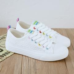รองเท้าผู้หญิง ราคาถูก รองเท้าผ้าใบ รองเท้าแฟชั่น มี สีขาว สีดำ สีชมพู มี ไซร์ 35-40