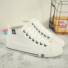 รองเท้าผู้หญิง ราคาถูก รองเท้าผ้าใบ รองเท้าแฟชั่น มี สีดำ สีขาว มี ไซร์ 35-40