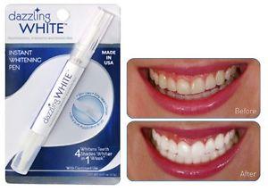Dazzling White ฟันขาวจริงภายใน 10 นาที ช่วยขจัดคราบ กาแฟ บุหรี่ คราบเหลืองจากอาการแพ้ยา คราบอาหารที่ทำให้ฟันของคุณหม่นหมอง ยิ้มไม่มั่นใจ กลับมาสดใสฟันขาวสะอาดประหยัดเงิน วิธีทำและการดูแลก็ง่าย คุณสามารถทำเองได้ที่บ้าน