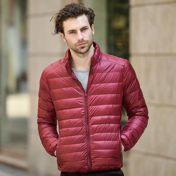 เสื้อโค๊ทขนเป็ดผู้ชาย เสื้อกันหนาวขนเป็ด เสื้อโค๊ทผู้ชาย