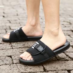 รองเท้าผู้ชาย ผู้หญิง ราคาถูก รองเท้าแตะ เกาหลี มี สีชมพู สีฟ้า สีดำ สีแดง มี เบอร์ 35-46