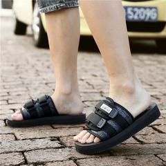 รองเท้าผู้ชาย ผู้หญิง ราคาถูก รองเท้าแตะ เกาหลี มี สีดำ สีแดง มี เบอร์ 35-45