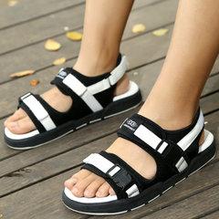 รองเท้าผู้ชาย ผู้หญิง ราคาถูก รองเท้าแตะ เกาหลี มี สีดำ-ขอบขาว สีดำ-ฟ้า สีดำ-ขาว สีดำหมด มี เบอร์ 37-45