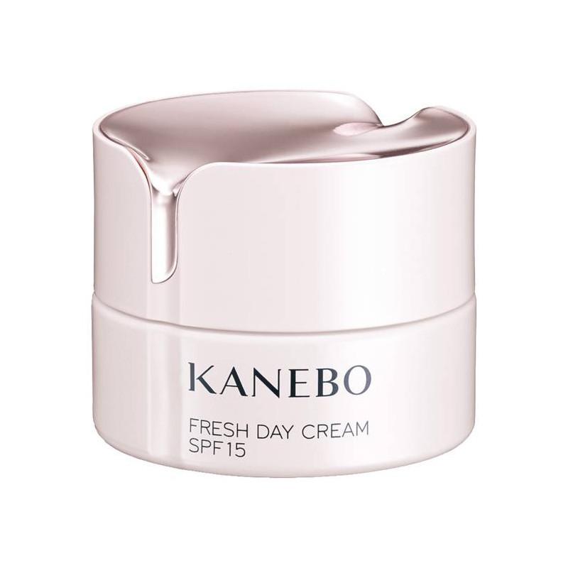 *พร้อมส่ง*KANEBO FRESH DAY CREAM SPF15 40ml. ครีมบำรุงผิว SPF15 ในตอนเช้าที่มอบความสดชื่นด้วยกลิ่นและเนื้อสัมผัส ปกป้องผิวจากความแห้งกร้านในระหว่างวัน ซึ่งเกิดจากสภาวะภายนอก เช่น รังสียูวี หรือ อากาศแห้ง ให้ความชุ่มชื้นกับผิว และช่วยให้ผิวมีความยืดหยุ่น