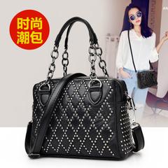 กระเป๋าผู้หญิง ราคาถูก กระเป๋าสะพายข้าง กระเป๋าถือ มี สีดำ-1 สีดำ-2