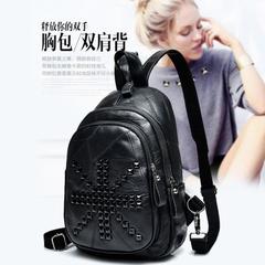 กระเป๋าผู้หญิง ราคาถูก กระเป๋าสะพายข้าง กระเป๋าถือ มี สีดำ-เม็ดกระจาย สีดำ-เม็ดเต็ม