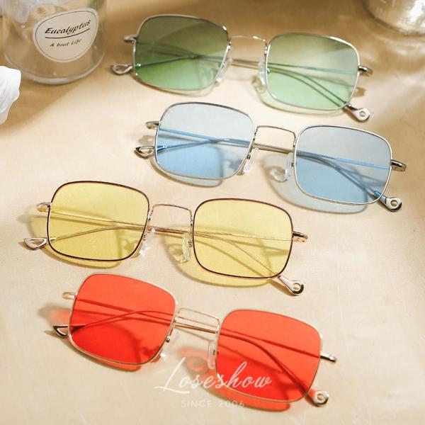 แว่นตากันแดด ราคาถูก แว่นกันแดด สีแดง สีเหลือง สีมหาสมุทรเขียว สี-Ocean Blue