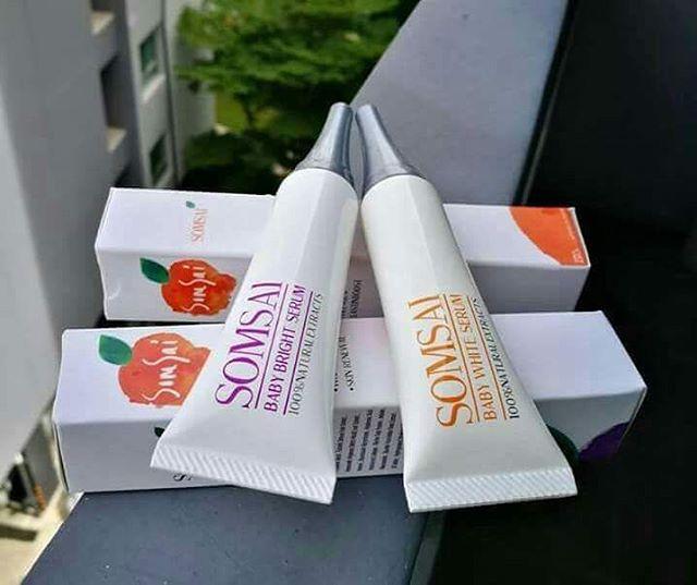 Somsai Baby White Serum ส้มใส เบบี้ ไวท์ เซรั่ม เซรั่มส้มใส