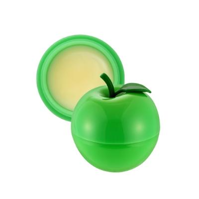 Tony Moly Mini Green Apple Lip Balm SPF15 PA+ ลิปบาล์มผสมสารป้องกันแสงแดด พร้อมกลิ่นหอมและคุณค่าของวิตามินอีที่ช่วยบำรุงริมฝีปากให้ชุ่มชื้นยาวนาน