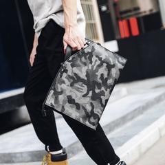 กระเป๋าผู้ชาย ราคาถูก กระเป๋าสะพาย กระเป๋าคลัทซ์ ถือ มี สีอำพราง