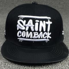 หมวกผู้ชาย ผู้หญิง ราคาถูก หมวกเบสบอล หมวกฮิปฮอป มี สีดำ สีดำทอง (ปรับได้)
