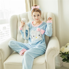 เสื้อผ้าผู้หญิง ราคาถูก เสือยืด + กางเกง ชุดนอน มี สีฟ้า สีชมพู มี ไซร์ M L XL 2XL