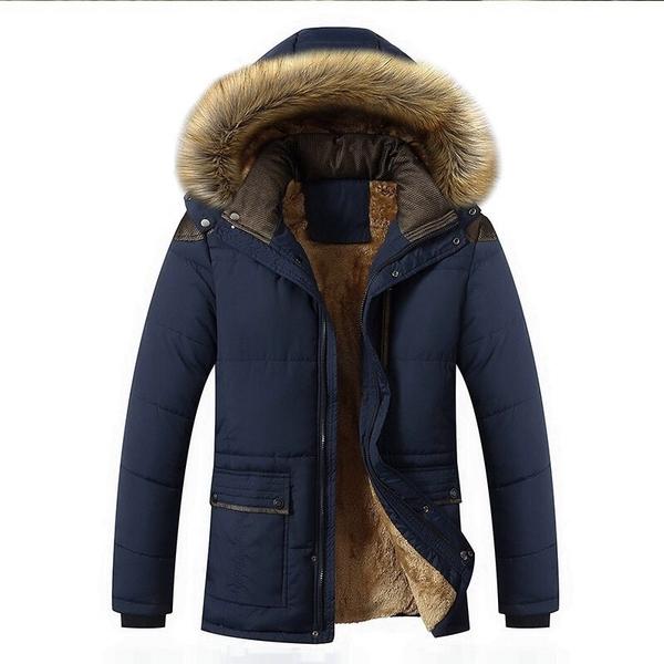 เสื้อโค๊ทกันหนาวผู้ชาย เสื้อแขนยาวกันหนาวผู้ชายมีฮู้ด