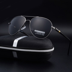 แว่นตากันแดด ราคาถูกแว่นกันแดด Polarized 2017 กระจก Mercedes มี สีขอบเงิน-1 สีขอบน้ำตาล-2 สีขอบดำ-3 สีขอบเทาเข้ม-4