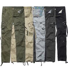 กางเกงผู้ชาย ราคาถูก กางเกงขายาว กางเกงขายาวขนาดใหญ่ กางเกงทรงหลวม มี สีเทา สีเทาเข้ม สีดำ สีกากี สีเขียวทหาร มี ไซร์ 29-30,32,34,36,38
