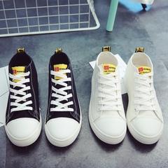 รองเท้าผู้หญิง ราคาถูก รองเท้าผ้าใบ รองเท้าแฟชั่น มี สีขาว สีดำ มี ไซร์ 35-40