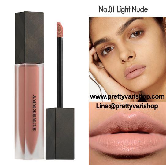 *พร้อมส่ง*Burberry Liquid Lip Velvet No.01 Light Nude ลิปสติกเนื้อครีมกึ่งแมทท์ สามารถสร้างริมฝีปากให้ดูโดดเด่นด้วยสีที่เด่นชัด แต่ให้ความรู้สึกเบาสบายและอ่อนนุ่มบนริมฝีปากเนื้อดีมาก แมตต์แบบนุ่มปากขั้นสุด ไม่ตกร่อง ปากอิ่ม ติดทน กลบสีปากมิด แถมยังเอ