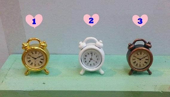 A022-นาฬิกาปลุกจิ๋ว(ราคาต่อชิ้น)