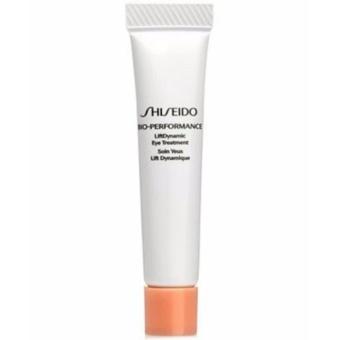 Shiseido Bio Performance Liftdynamic Eye Treatment 5 ml.ครีมบำรุงลดเลือนริ้วรอย และความหมองคล้ำรอบดวงตา ผิวชุ่มชื่น ลดการบวมน้ำ