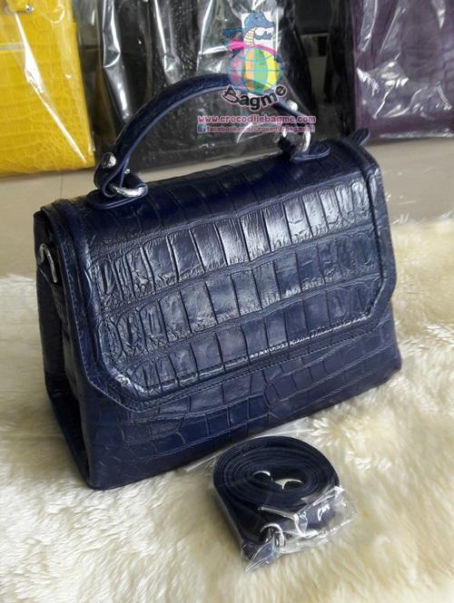 พร้อมส่ง กระเป๋าถือ สะพายหญิงBT8162 หนังท้อง
