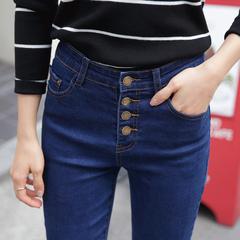 กางเกงผู้หญิง ผู้ชาย ราคาถูก กางเกงยีนส์ มี สีดำ สีน้ำเงิน มี ไซร์ 26-32
