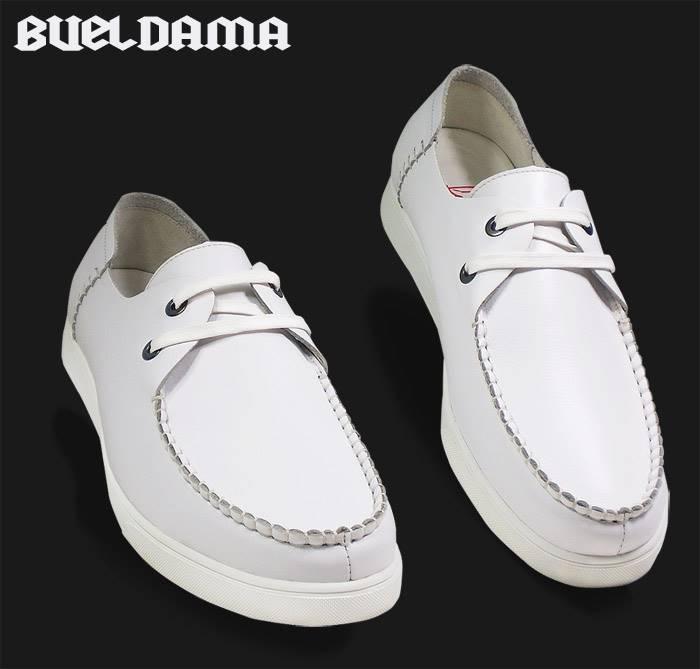 ขนาด:44 45 46 47 48 49 50 สี:ขาว/เหลือง/ดำ/แดง/น้ำตาล รองเท้าผู้ชาย รองเท้าหนัง ขนาดใหญ่