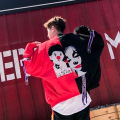 เสื้อผ้าผู้ชาย ผู้หญิง ราคาถูก เสื้อกันหนาว มี สีขาว สีดำแดง มีั ไซร์ M L XL 2XL 3XL