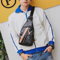 กระเป๋าผู้ชาย ราคาถูก กระเป๋าสะพายอก ไหล่ ถือ มี สีดำ