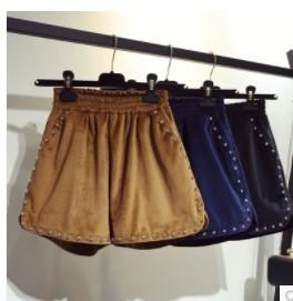 กางเกงขาสั้น เอวยางยืด มี3สี น้ำตาล/น้ำเงิน/ดำ มีไซส์ L/XL/2XL/3XL/4XL