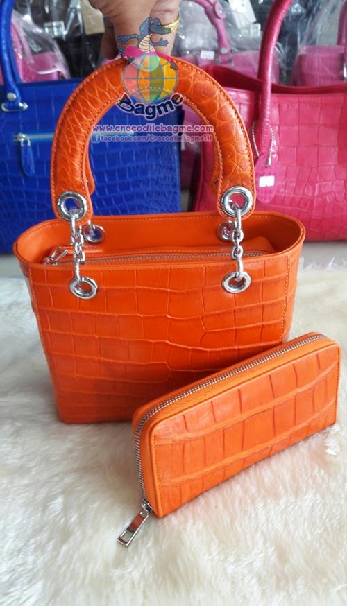 งานคู่ กระเป๋าถือ สะพายหญิงT8153 ท้อง มีสายสะพาย+กระเป๋าสตางค์