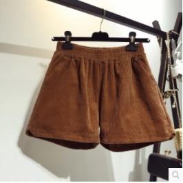 กางเกงขาสั้น เอวยางยืด มี2สี น้ำตาล/ดำ มีไซส์ XL/2XL/3XL/4XL