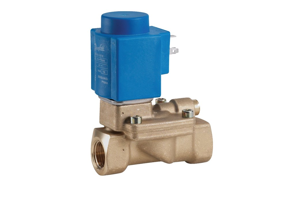 High Pressure 2/2 way Pilot Operated Solenoid Valve
