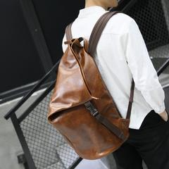กระเป๋าผู้ชาย ราคาถูก กระเป๋าเป้ สะพายหลัง กระเป๋าถือ เท่ๆ มี สีน้ำตาล