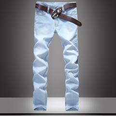 กางเกงผู้ชาย ผู้หญิง ราคาถูก กางเกงยีนส์ มี สีฟ้า มี ไซร์ 28-34,36